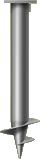 Винтовая свая диаметром 57 мм